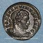 Münzen Constantin I (307-337). Follis. Trèves, 1ère officine. 316. R/: le Soleil