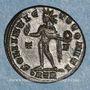 Münzen Constantin I (307-337). Follis. Trèves, 1ère officine. 317. R/: le Soleil