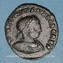 Münzen Constantin II, césar (317-337). Follis. Arles, 2e officine, 317-318. R/: le Soleil