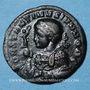 Münzen Constantin II, césar (317-337). Follis. Trèves, 2e officine, 322. R/: autel