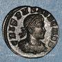 Münzen Crispe, césar (317-326). Follis. Londres, 1ère officine. 318. R/: le Soleil