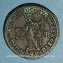 Münzen Dioclétien (284-305). Follis. Aquiléa, 1ère officine. 301. R/: la Monnaie