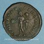 Münzen Dioclétien (284-305). Follis. Londres, 298-300. R/: Génie