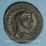 Münzen Dioclétien (284-305). Follis. Ticinum, 294-295. R/: Génie