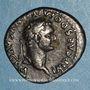 Münzen Domitien (81-96). Denier. Rome, 82. R/: chaise curule