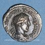 Münzen Elagabale (218-222). Denier. Rome, 219. R/: la Providence