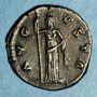 Münzen Faustine mère, épouse d'Antonin le Pieux († 141). Denier. Rome, après 147. R/: Cérès