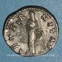 Münzen Faustine mère, épouse d'Antonin le Pieux († 141). Denier. Rome, après 147. R/: L'Eternité