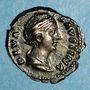 Münzen Faustine mère, épouse d'Antonin le Pieux († 141). Denier. Rome, après 147. R/: Vesta