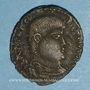 Münzen Frappes barbares (2e moitié du 4e siècle). Maiorina. R/: l'empereur