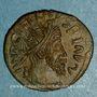 Münzen Frappes barbares (vers 270-275). Antoninien. Buste radié de Tétricus I. R/: personnification