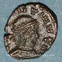 Münzen Frappes barbares (vers 307-337). Nummus au nom de Constantin. R/: deux soldats