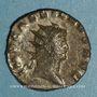Münzen Gallien (253-268). Antoninien. Milan, 1ère officine. 265-266. R/: Esculape