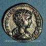 Münzen Géta, césar sous Septime Sévère et Caracalla (198-209). Denier. Rome, 202. R/: la Sécurité