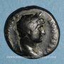 Münzen Hadrien (117-138). Semis. Rome ou Antioche, 125-128. R/: lyre