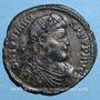 Münzen Jovien (363-364). Double maiorina. Thessalonique, 1ère officine. R/: l'empereur debout. R !