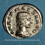 Münzen Julia Maésa, grand-mère d'Elagabale († 226). Denier. Rome, 218-220. R/: la Piété