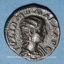 Münzen Julia Mamée, mère d'Alexandre Sévère († 235). Denier. Rome, 222. R/: Junon