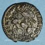 Münzen Julien II césar (355-61). Maiorina réduite. Smirnium, 2e officine. 355-61. R/: l'empereur