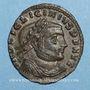 Münzen Licinius I (308-324). Follis. Thessalonique. 1ère officine, 312. R/: Jupiter