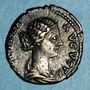 Münzen Lucille, épouse de Lucius Vérus (+183). Denier. Rome, 166-169. R/: Junon