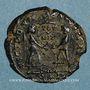Münzen Magnence (350-353). Maiorina. Rome, 7e officine, 350-351. R/: deux Victoires