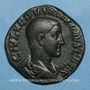Münzen Maxime, césar sous Maximin I Thrax (235-238). Sesterce. Rome, 235-236. R/: instruments sacerdotaux