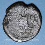 Münzen Octave et César. Dupondius. Lyon, vers 36 av. J-C. R/: proue