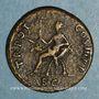 Münzen Trajan (98-117). Dupondius. Rome, 99-100. R/: l'Abondance
