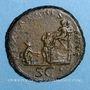 Münzen Trajan (98-117). Sesterce. Rome, 116. R/: Trajan
