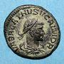 Münzen Vabalathe et Aurélien (270-272). Antoninien. Antioche. 8e officine, 270-272. R/: Aurélien