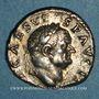 Münzen Vespasien (69-79). Denier. Rome, 70-72. R/: simpulum,...