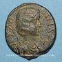 Münzen Julia Domna, épouse de Septime Sévère († 217). Bronze. Hadrianopolis (Phrygie)