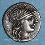 Münzen République romaine. C. Minucius Augurinus (vers 135 av. J-C). Denier