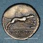 Münzen République romaine. C. Postumius (vers 74 av. J-C). Denier