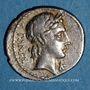 Münzen République romaine. C. Vibius C. f. Pansa (vers 90 av. J-C). Denier