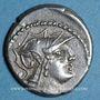 Münzen République romaine. D. Silanus L. f. (vers 91 av. J-C). Denier