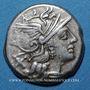 Münzen République romaine. Decimius Flavus (vers 150 av. J-C). Denier