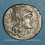 Münzen République romaine. L. Antestius Gragulus (vers 136 av. J-C). Denier