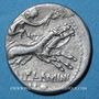 Münzen République romaine. L. Flaminius Chilo (vers 109-108 av. J-C). Denier
