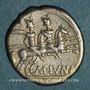 Münzen République romaine. M. Junius Silanus (vers 145 av. J-C). Denier