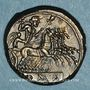 Münzen République romaine. Monnayage anonyme (vers 225-212 av. J-C). Didrachme-quadrigatus