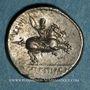 Münzen République romaine. Pub. Crepusius (vers 82 av. J-C). Denier