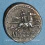 Münzen République romaine. Q. Philippus (vers 129 av. J-C). Denier