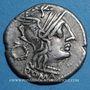 Münzen République romaine. T. Cloelius (vers 128 av. J-C). Denier