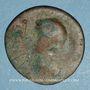 Münzen Les Ostrogoths. Roi incertain. Bronze anonyme de 42 nummi. 6e siècle
