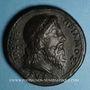Münzen Priam, roi de Troie, vers 1550. Médaille bronze coulé. 38,4 mm.